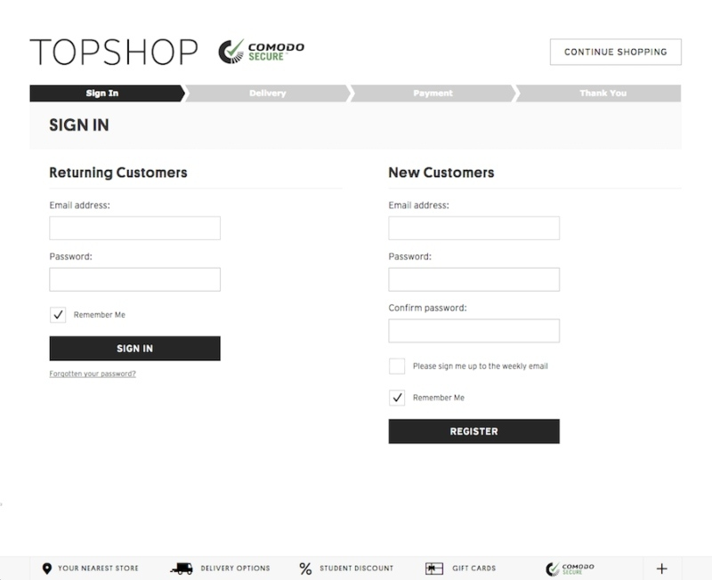 marketing psychology topshop
