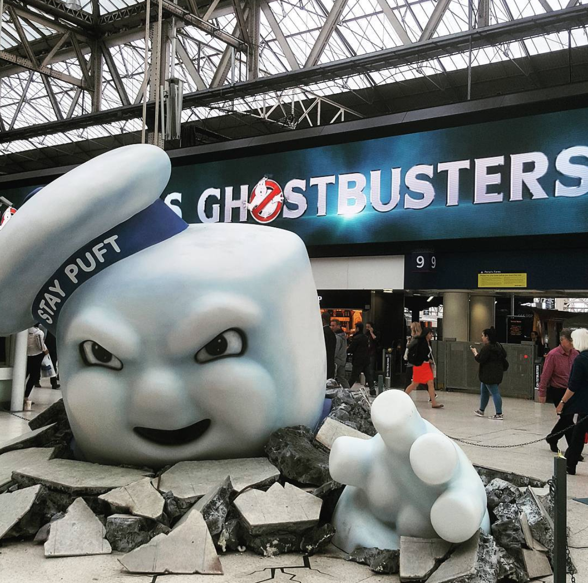 experiential marketing ghost busters